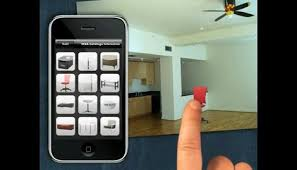 realite augmentee meubles dans un appartement simulation