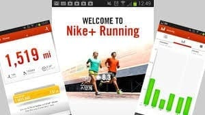 captures ecran application nike running