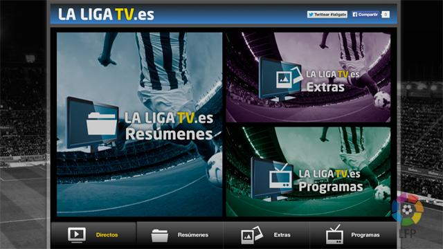 site web chaine television la liga