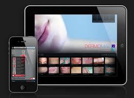 iphone et ipad application dermomap