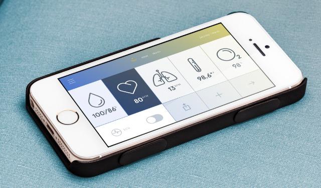iphone application sante