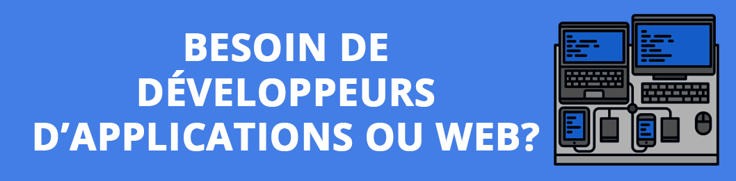 developpeurs d'applications et web