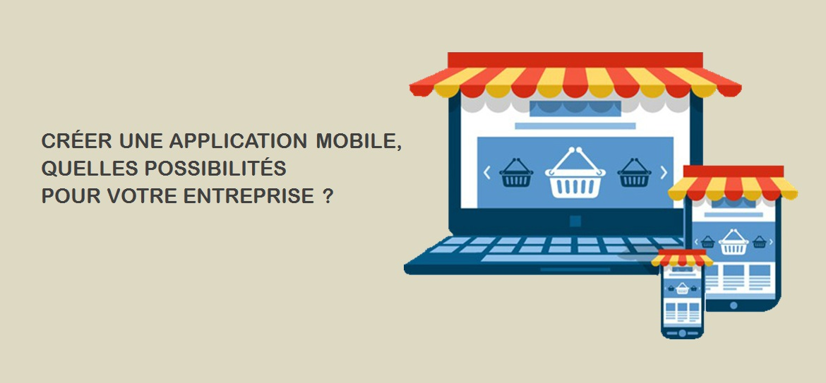 banniere creation application mobile