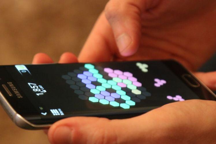 jeu mobile android sur ecran smartphone