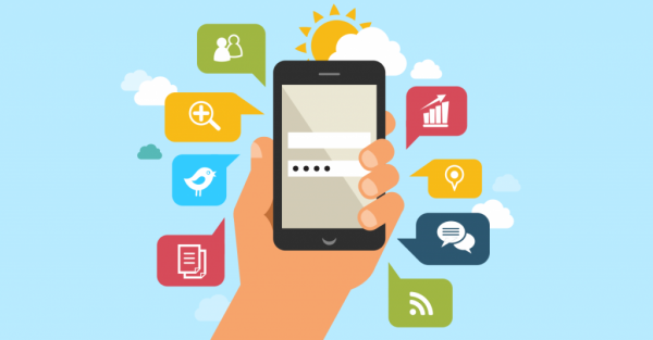 illustration applications mobiles