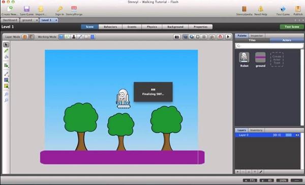 capture ecran plateforme design