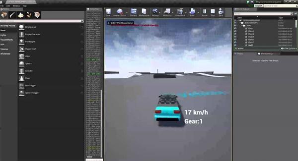 développement de jeux vidéo avec unreal engine