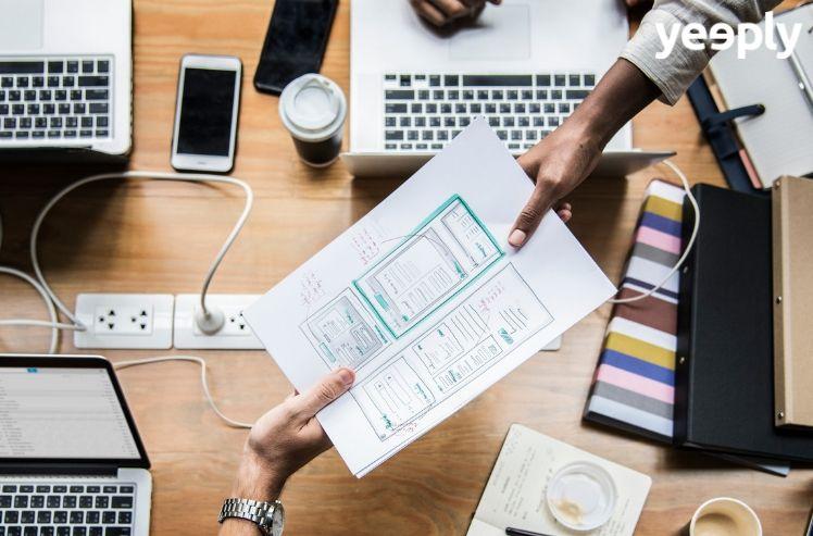 La création d'application mobile et l'importante étape du prototypage