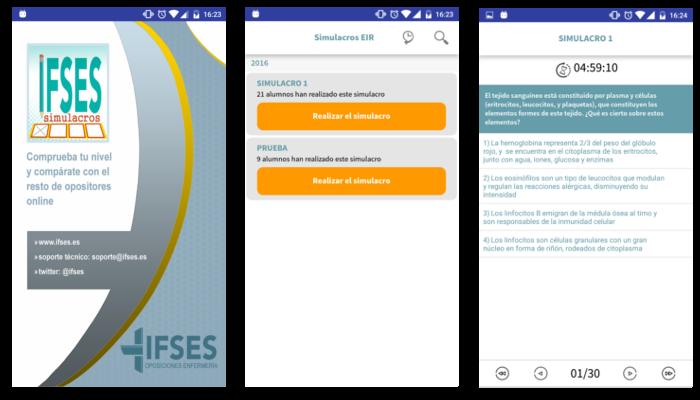 captures ecrans application ifses