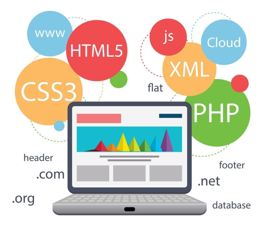 illustration ecran ordinateur site web