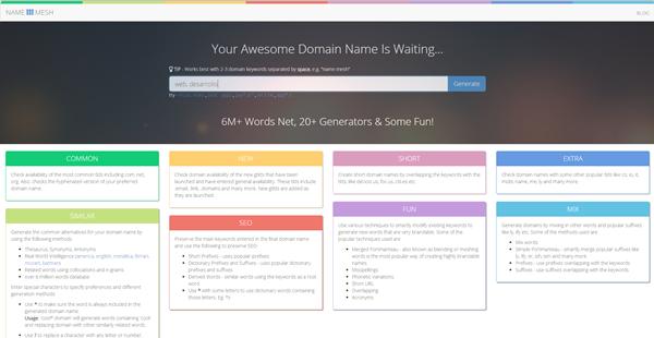 Création de site web : nom de domaine