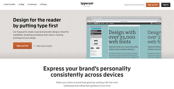 Création de sites internet : typographie