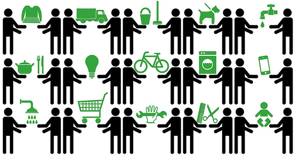 illustration economie collaborative