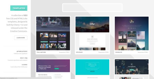 Créer un site web : templates gratuits