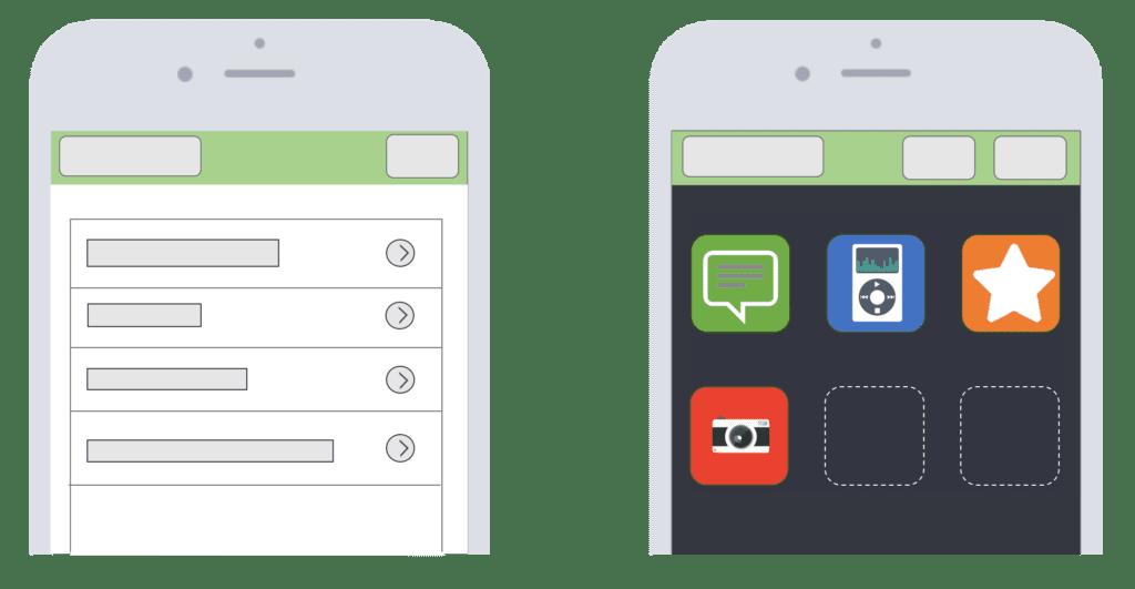 Cout app design