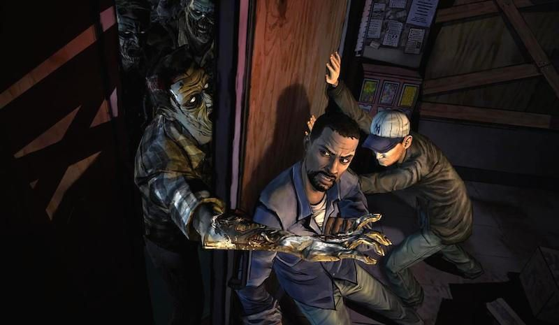 application The Walking Dead The Game