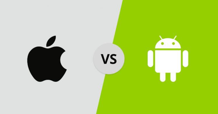 ios vs andoid pour développement application mobile - développement d'application