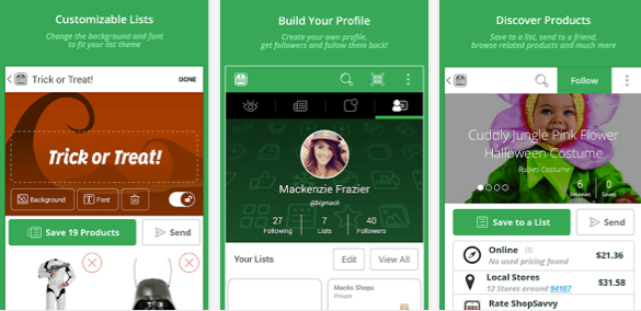 capture ecran interfaces application black friday