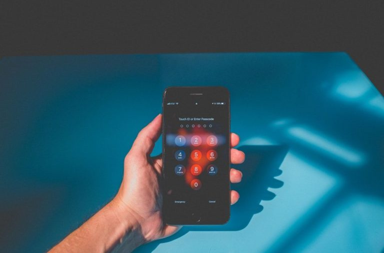 ecran deverouillage iphone