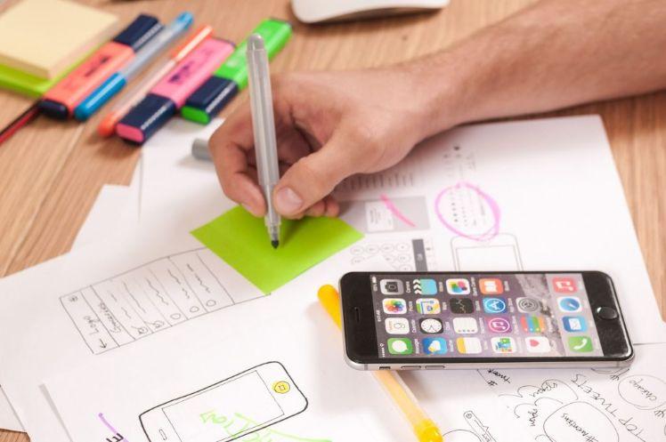 travail du design iphone