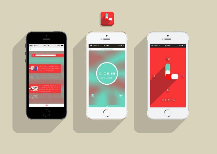 interfaces applications ecran iphone