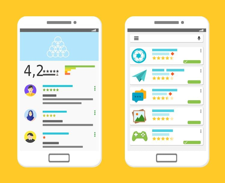 app store review- marketing mobile