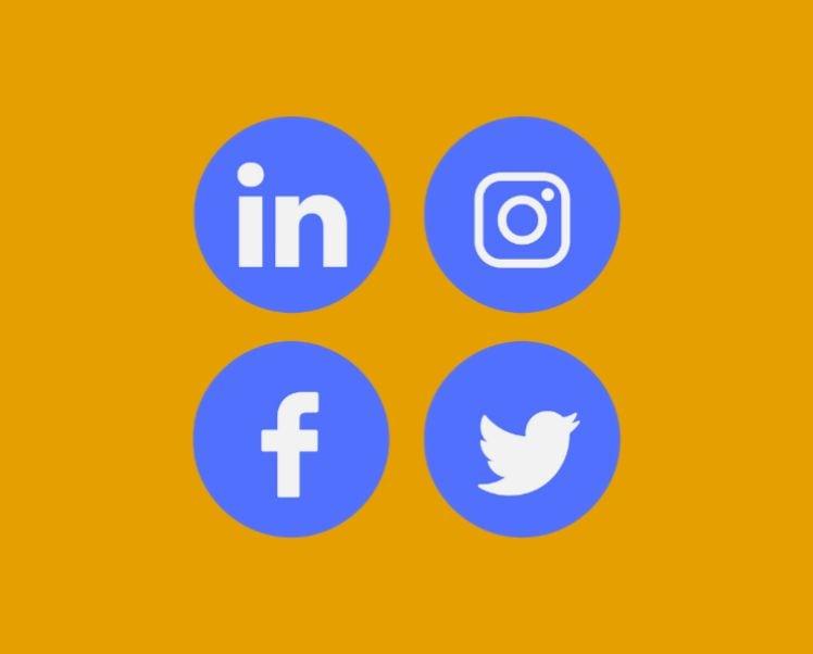 reseaux sociaux - site internet entreprise