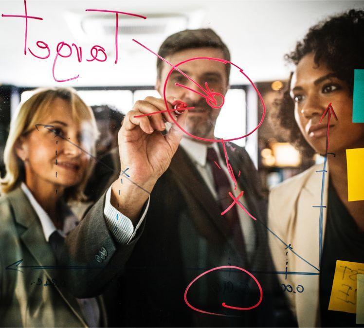 tableau transparent collaborateurs projet