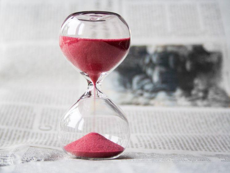 sablier temps - application educative