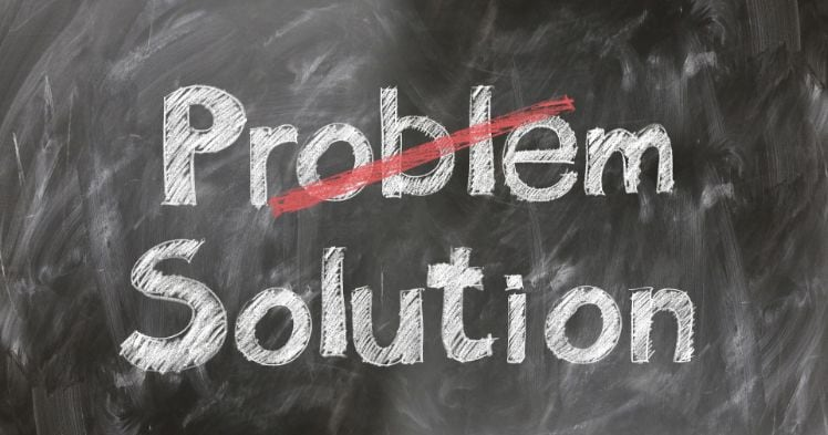 problem solution - application entreprise