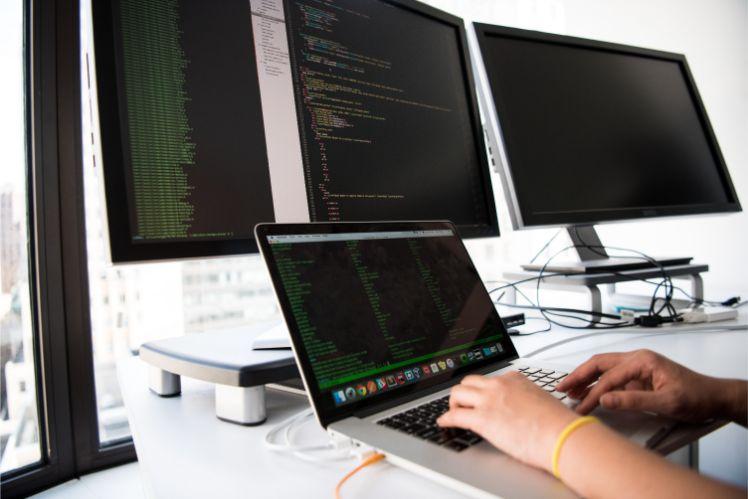 differents ecrans coding