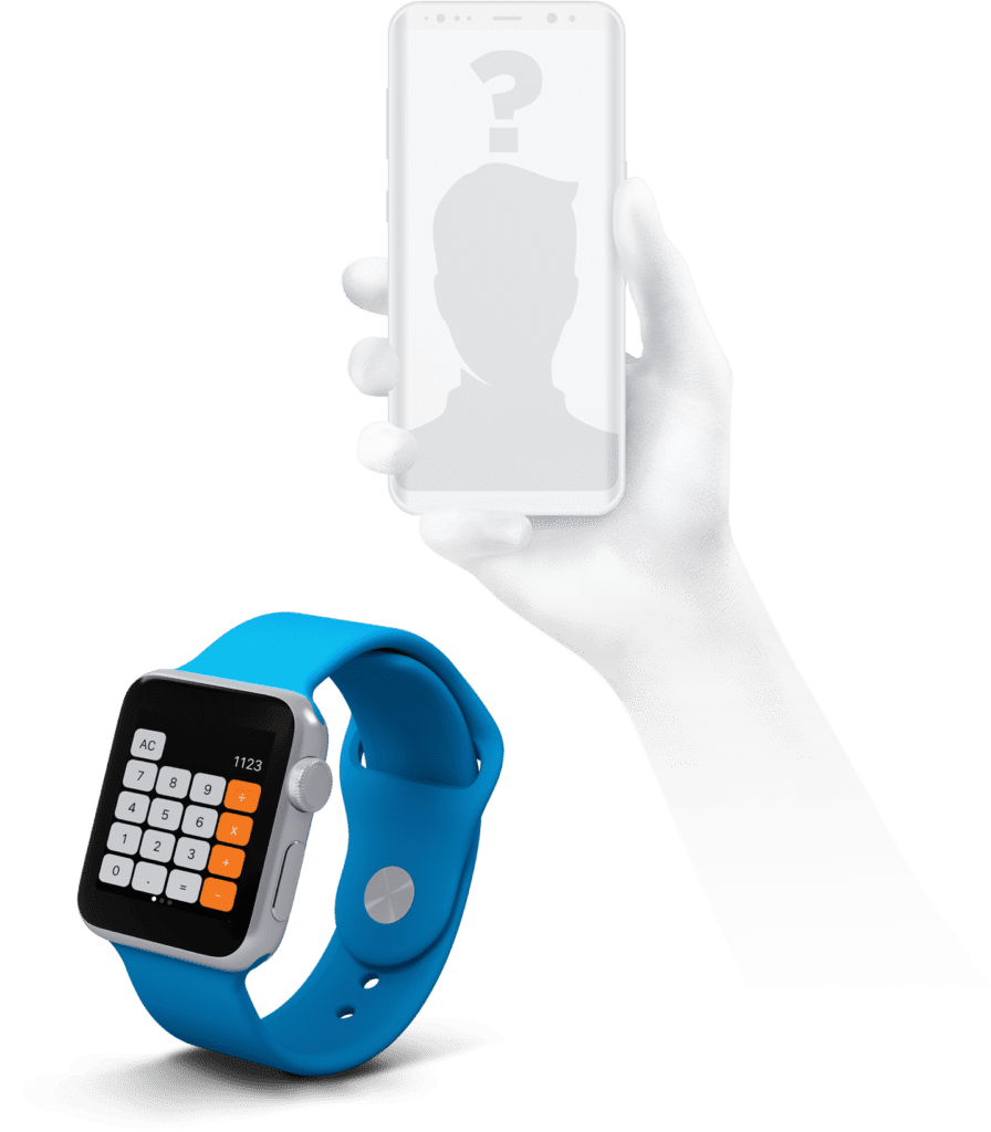 montre connectee utilisateur smartphone