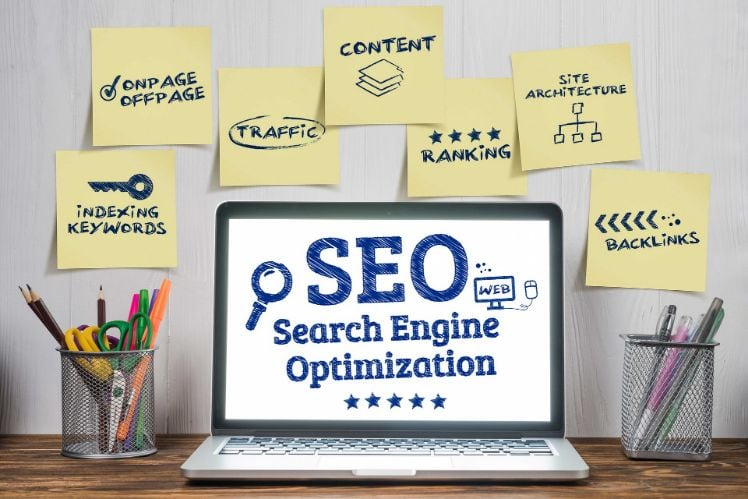 illustration differents aspects seo efficace