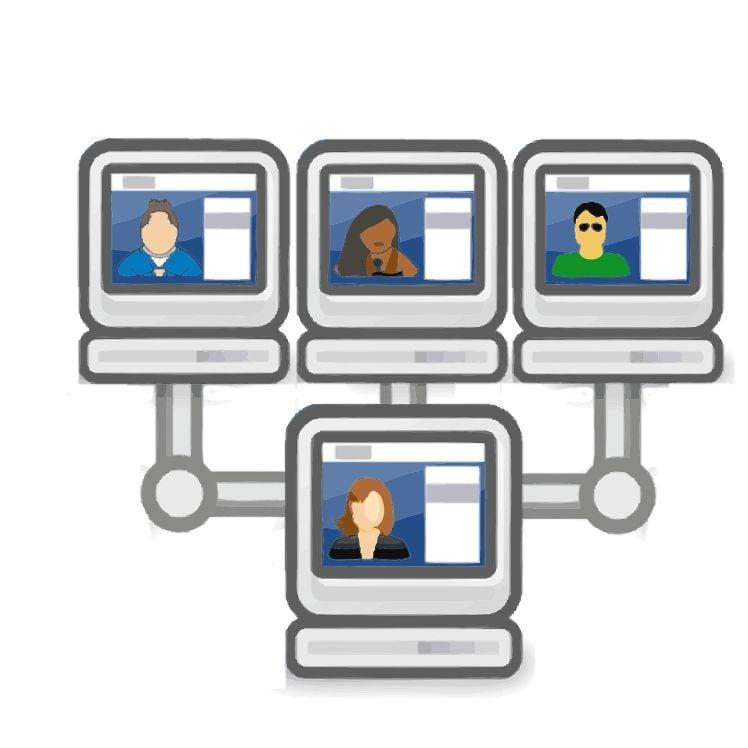 video conference - bureau mobile