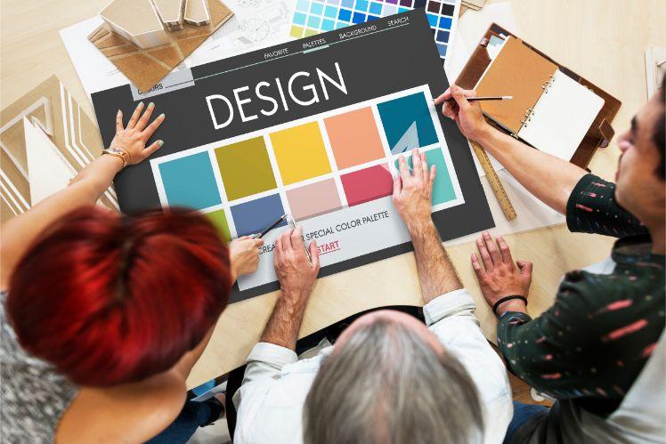 design du site web- influence des couleurs