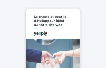 couveture e-book pour le developpement de site web de yeeply