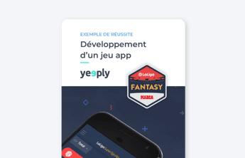 couverture d'ebook de la success story de yeeply jeu mobile Laliga fantasy