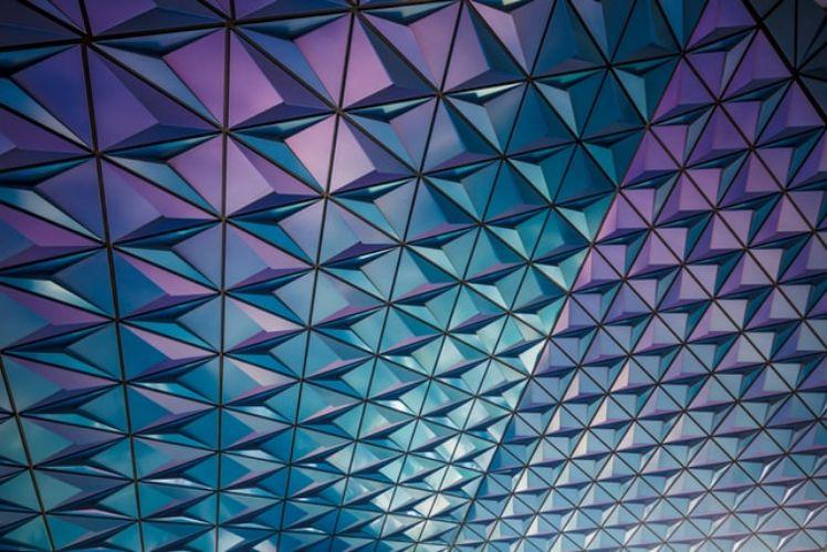 plafond coloré - hyperconvergence
